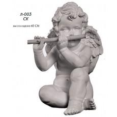Ангел с дудкой Л003СК