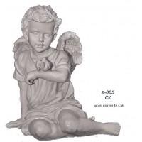 Ангел с воробушком