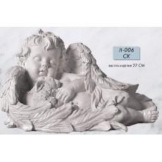 Ангел с зайцем Л006СК