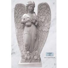 Ангел с цветами Л062СК