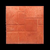 Плитка тротуарная полимерпесчаная 330х330х20 мм красный кирпич