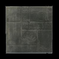 Плитка садовая полимерпесчаная 250х250х20 мм черная